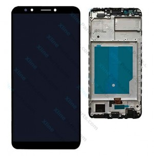 LCD with Touch and Frame Huawei Y7 Prime Y7 Pro (2018) black