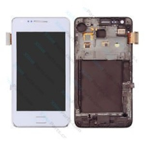 LCD with Touch and Frame Samsung Galaxy S2 I9100 white AAA*