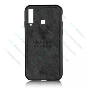 Silicone Case Deer Samsung Galaxy A9 (2018) A920 black