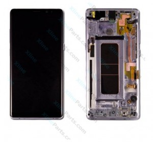 LCD with Touch and Frame Samsung Galaxy Note 8 N950 orchid grey (Original)