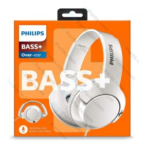 Bluetooth Headphone Philips Bass Plus white (Original)