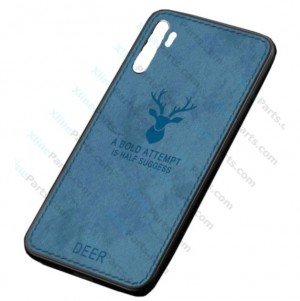 Silicone Case Deer Huawei P30 Pro blue