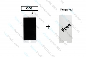 LCD with Touch Apple iPhone 6G Plus white OCG