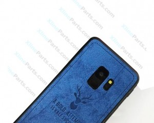 Silicone Case Deer Samsung Galaxy S9 G960 blue