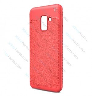 Silicone Case Samsung Galaxy A6 (2018) A600F red