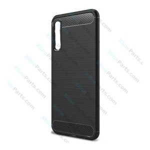 Silicone Case Carbon Samsung Galaxy A7 (2018) A750 black
