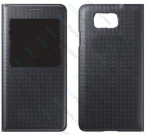 Flip Case Smart View Samsung Galaxy Alpha G850 black