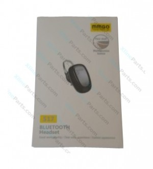Bluetooth Headset MMGO S17 black AAA
