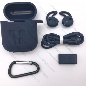 Silicone Case Non-Slip Anti Lost Apple Airpods black