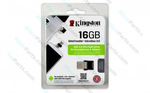 Kingston DataTraveler MicroDuo Pen Drive OTG DTDUO3 USB 3.0 16GB (Original)