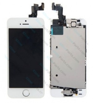 LCD with Touch Apple iPhone 5S white Complete