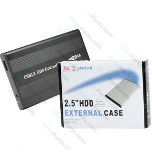 Case Enclosure External H.D.D Hot USB 2.0 black